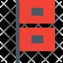 Hurricane warning Icon