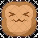 Hurt Sick Monkey Icon