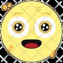 Hushed Emoticon Icon