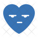 Heart Feeling Emoji Icon