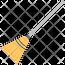 Husk Broom Gardening Tool Sweeping Floor Icon