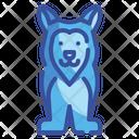 Husky Dog Icon