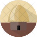 Hut Building Straw Icon