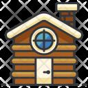 Hut Wooden Cabin Icon