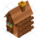 Hut Wooden Cabin Icon