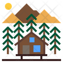 Hut House Cabin Icon
