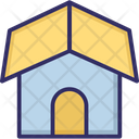 Hut Cottage Family House Icon
