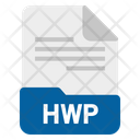 Hwp File Format Icon