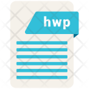 Hwp File Formats Icon