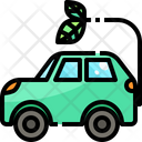 Hybrid Car Hybrid Car Electric Vehicle Icon
