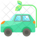 Hybrid Car Icon