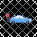 Electric Vehicle Charging Station Plug Icon