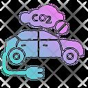 Hybrid Car Electric Car Car Icon