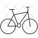 Bicycle Hybrid Bike Icon