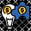Hybrid Solution Fintech Icon