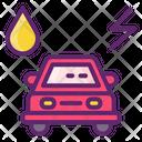 Hybrid Vehicle Hybrid Electric Vehicle Charge Icon