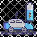 Hybrid Vehicle Icon