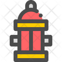 Water Hydrant Emergency Icon