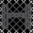 Hydraulic Lift Car Icon