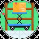 Pallet Jack Hydraulic Cart Lift Cart Icon