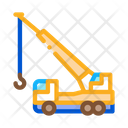 Crane Hydraulic Equipment Icon