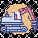 Hydraulic Hammer Hydraulic Hammer Icon