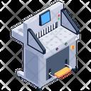 Paper Cutting Machine Machinery Hydraulic Paper Cutting Machine Icon