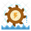 Hydro Power Plant Icon