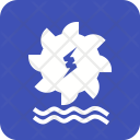 Hydro Power Energy Icon