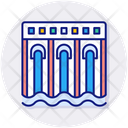 Hydro Electricity Water Power Hydro Power Icon