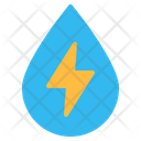 Hydro Energy Drop Icon