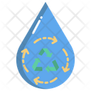 Hydro Energy Water Power Water Energy Icon