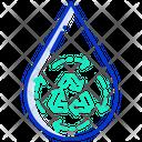 Hydro Energy Icon