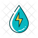 Hydro Power Water Power Clean Power Icon
