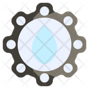 Water Hydro Electricity Icon