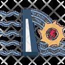Hydro Power Plant Icon