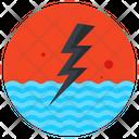 Hydropower Hydroelectric Energy Dam Icon