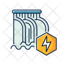 Hydroelectric Power Station Icon