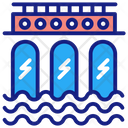 Hydroelectricity Icon