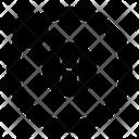 Hydrogen Atom Icon