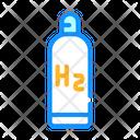 Hydrogen Reservoir Biofuel Icon