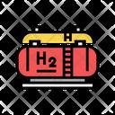 Hydrogen Storage Tanks Storaging Tank Icon