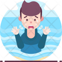 Hydrophobia Fear Of Water Icon
