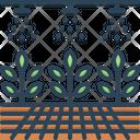 Hydroponic Organic Plant Icon