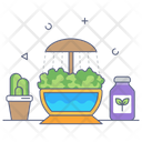 Hydroponic Technology Icon