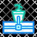 Hydroponics Color Organic Icon