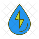 Hydropower Water Energy Energy Transfermation Icon