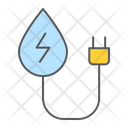 Hydropower Water Energy Icon