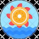 Hydroelectric Hydropower Hydro Energy Icon