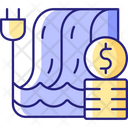 Hydropower Pricing Icon